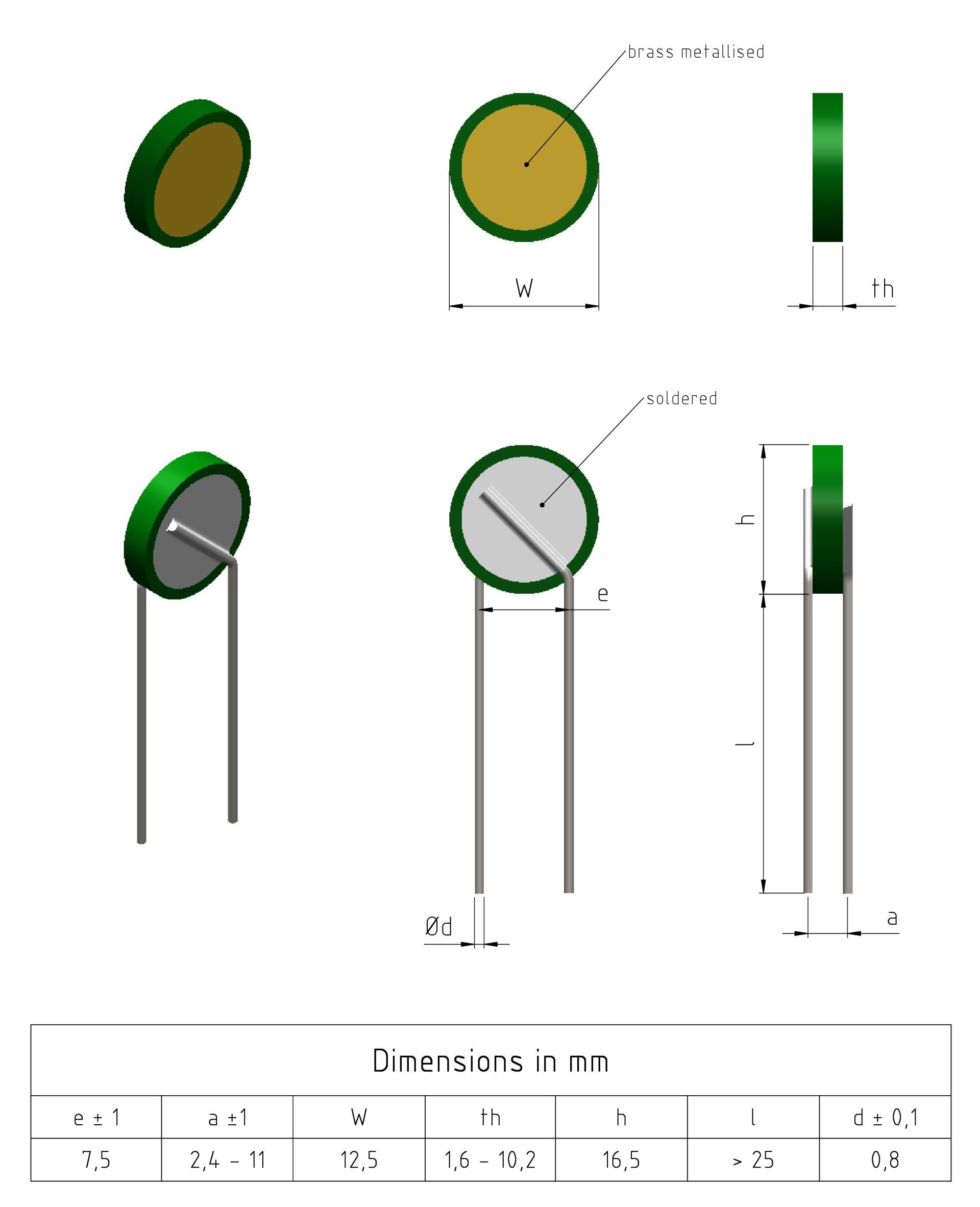 125 Series Example Drawings